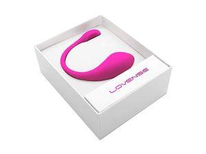 Lush 2 Lovense Huevo vibrador de uso en público - Ecart